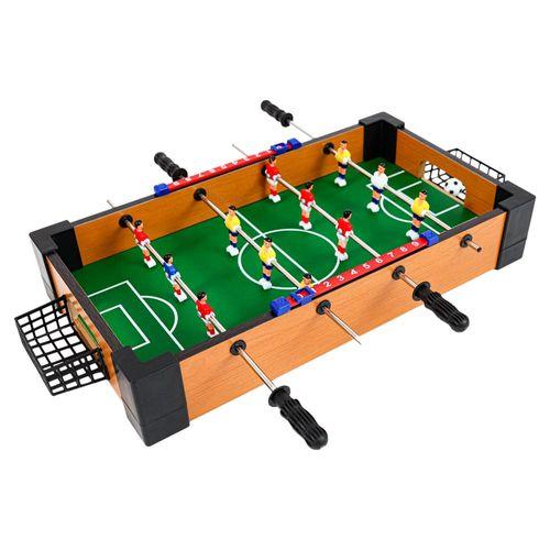 Set Mini Juego Fútbol de Mesa - Futbolín