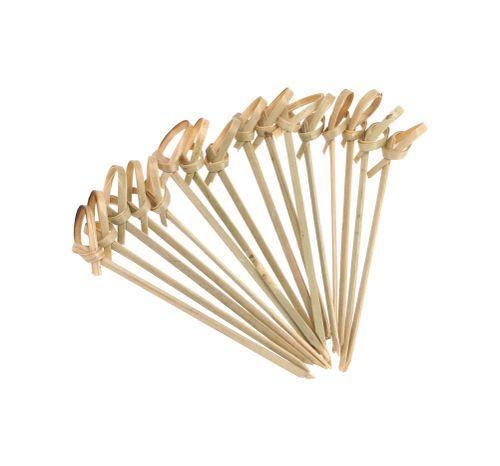 Set 50 Brochetas Bambú