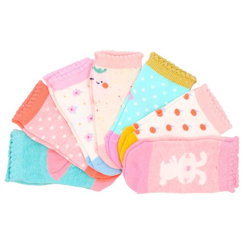Set 7 Calcetines Bebé Única
