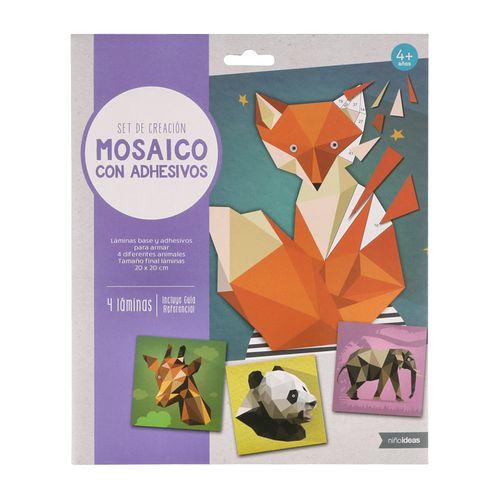 Set Kit Manualidades Para Crear Mosaico En Papel