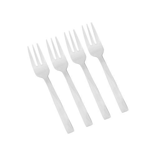 Set 4 Tenedores para Torta Acero Inoxidable