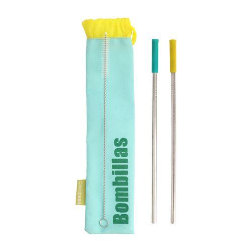 Set 2 Bombillas Reutilizables + Limpiador