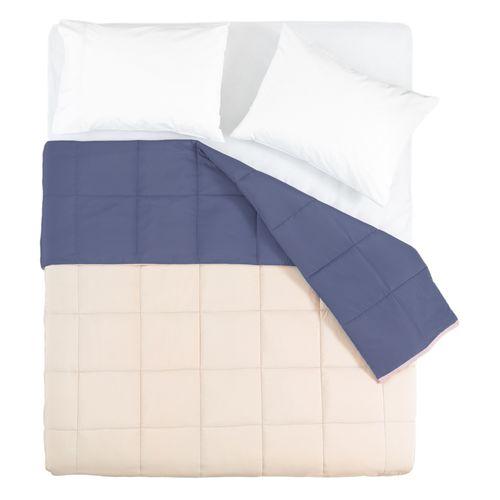 Cobertor Liso Crudo Diseño 1 Poliéster Queen