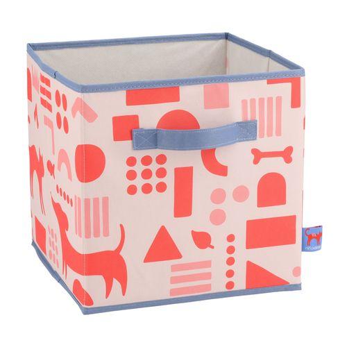 Organizador Caja Tela 28x28x28cm