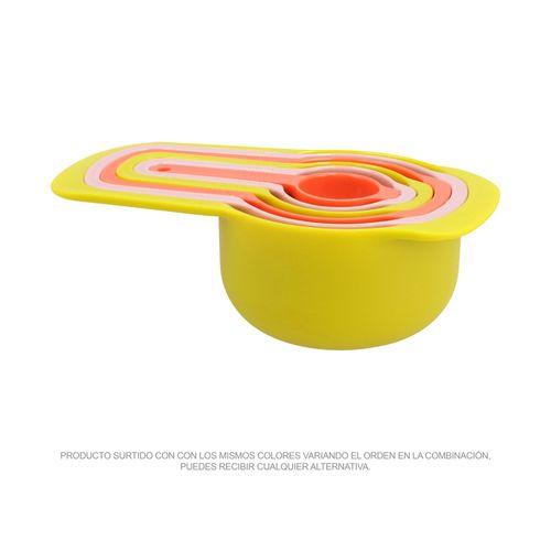 Set 6 Medidores Plástico