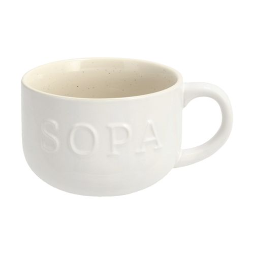 Mug de Sopa Porcelana 500 ml