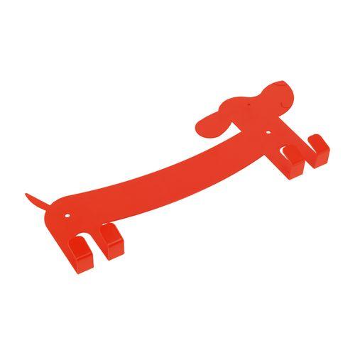 Perchero Diseño 4 ganchos Metal 31x13x2 cm