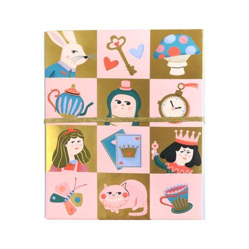 Set Tarjetas Cartas con Sticker Cartón, Papel, ABS