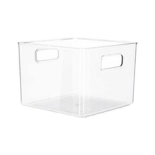 Caja Organizadora Refrigerador Plástico PET 20,5x20,5x15 cm