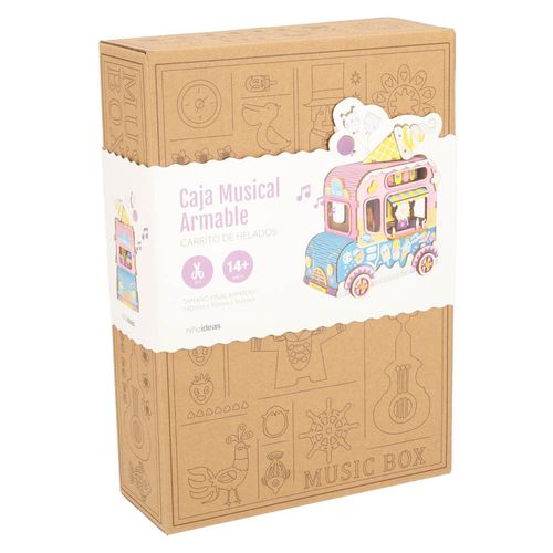 Puzzles Caja Musical Armable