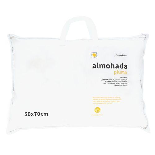 Almohada Pluma 50 x 70 cm