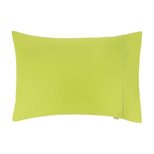 Funda Almohada Liso 144 Hilos Color Verde Pistacho 50 x 70 cm