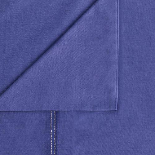 Set Set Sábanas Liso 144 Hilos Color Azul Violeta Sencillo