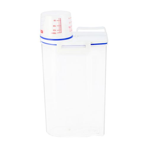Contenedor con taza de medidas Plástico 3 lt