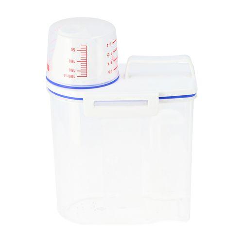 Contenedor con taza de medidas Plástico 1,8 lt