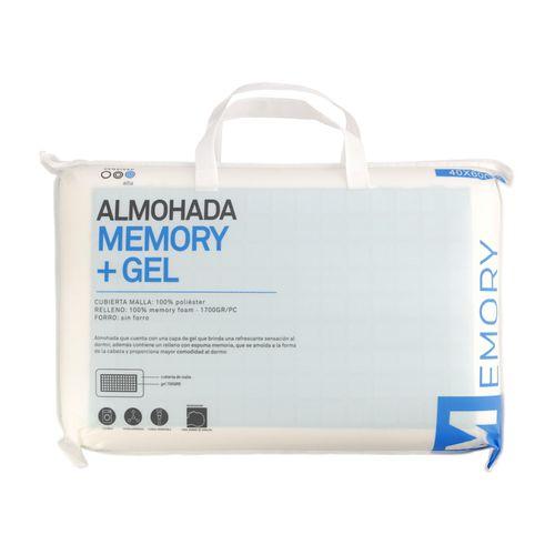 Almohada Memory + Gel 40 x 60 cm