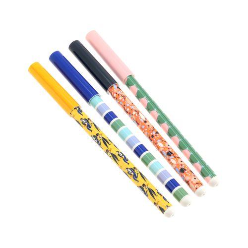 Set 4 Bolígrafos Diseño