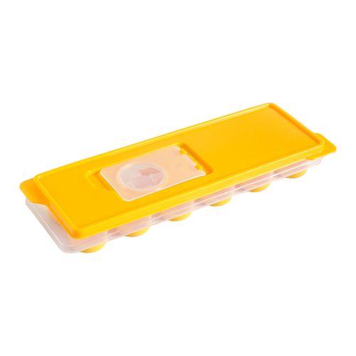 Cubeta de Hielo con base de silicona y tapa plástica 95 x 26 x 38 cm